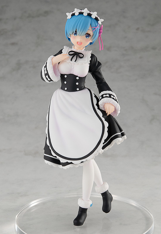 Nendo Addicts - Pop Up Parade - Re Zero Rem Ice Season Version Pose1