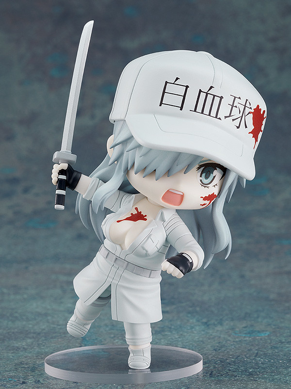 Nendoroid - #1579 - Cells At Work White Blood Cell 1196 Pose4